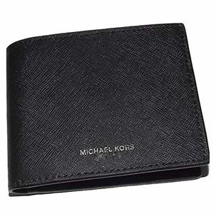Michael Kors Andy Leather Bifold Wallet Black
